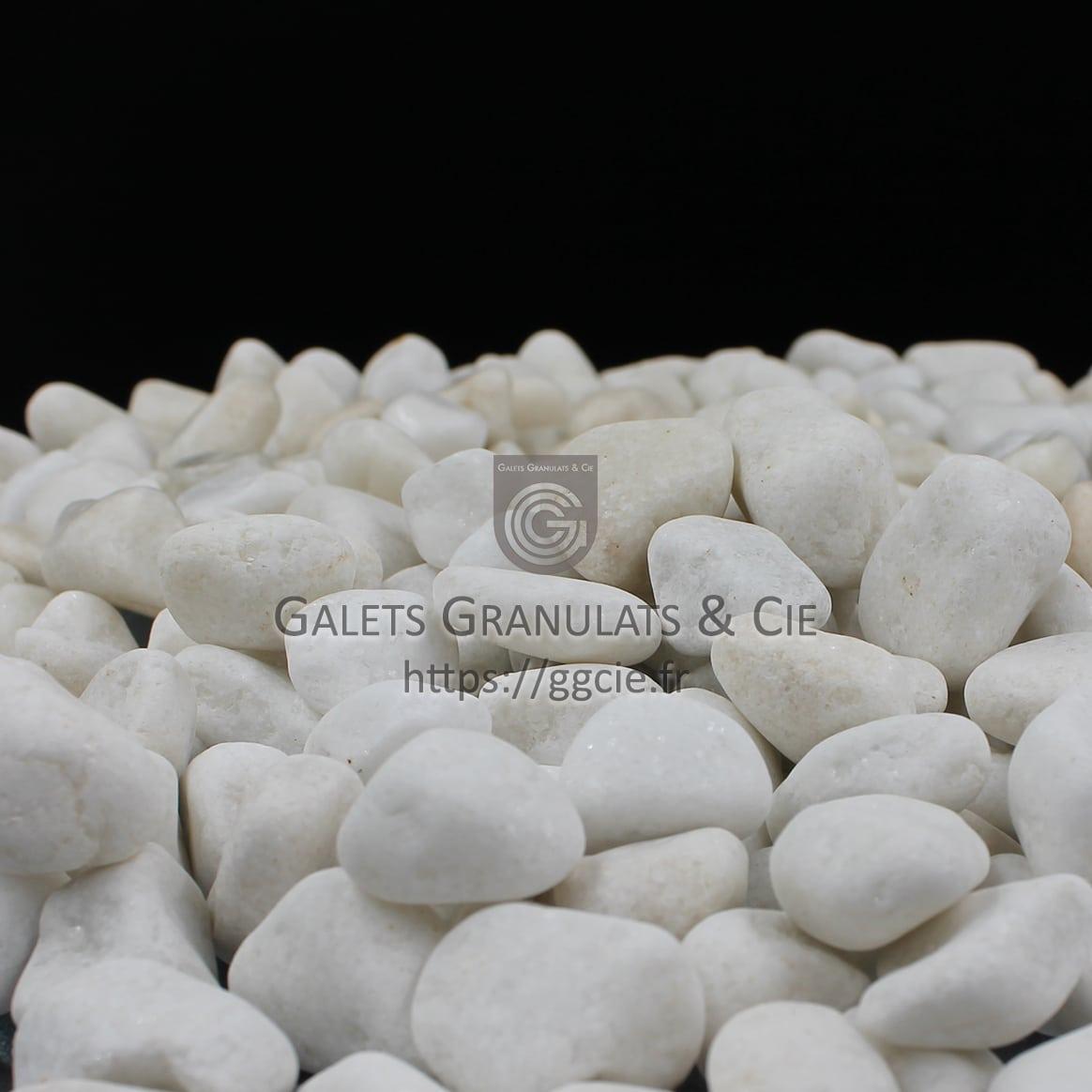 galet marbre blanc paillet galets granulats cie ggc. Black Bedroom Furniture Sets. Home Design Ideas