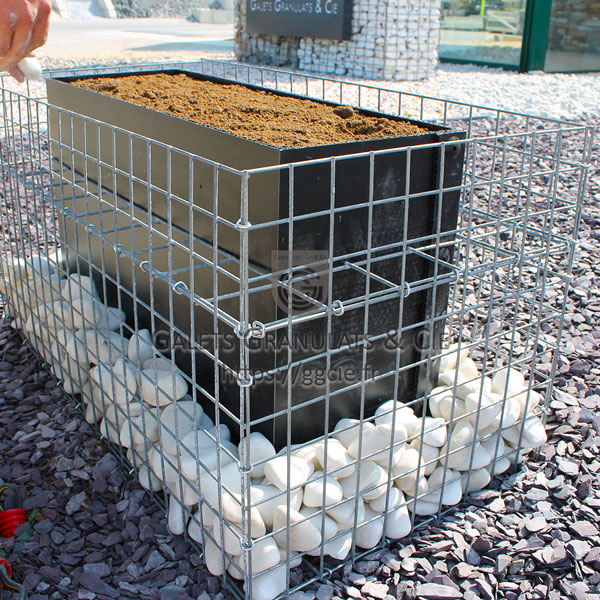 brise vue gabion cool des brisesvues et gabions pour amnager sparer et revisiter vos espaces. Black Bedroom Furniture Sets. Home Design Ideas