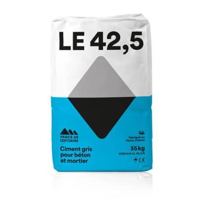 Ciment gris pour béton et mortier 35kg